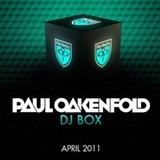 paul oakenfold: dj box april 2011