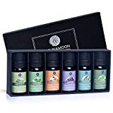Pure Essential Oils Set for Diffuser Humidifier Massage Aromatherapy Skin Hair Care