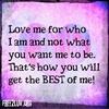 Love Me For Who I Am Puzzle