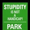 stupid is NOT handicap