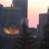 Hotel MacDonald, Edmonton, Alberta at dawn