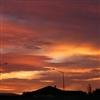 Morning sky Invercargill NZ