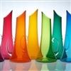 Coloured glass tumblers