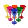 Coloured drink glasses