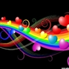 Colourful Love Bubbles