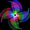 Colourful Pinwheel Puzzle