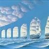 Bridge or sailing boats?