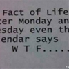 A Fact of Life Puzzle