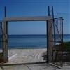 Gate to the beach.