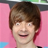 Funny Face Of Mr.-Bean As Justin Bieber