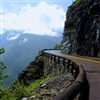 Going to the Sun road, Glacier Park, Montana