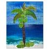 Happy Palm Tree loose coconuts Puzzle