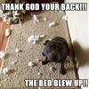 Exploding Bed