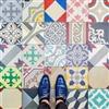 Lovely floor tiles in Barcelona Puzzle
