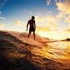 Surfer sunset Puzzle