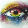 Watercolor Eye Puzzle