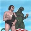 Andre The Giant Godzilla Puzzle