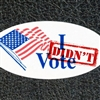 I DIDNT VOTE