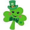 Here Is Your Good Luck Shamrock Puzzle