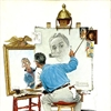 Norman Rockwell Self Portrait Puzzle