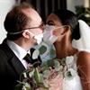 COVID 19 Bride Groom Kissing Puzzle