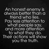 An Honest Enemy