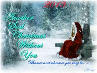 Christmas Without You.Sad Christmas Without You Puzzle