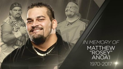 R I P WWE ROSEY