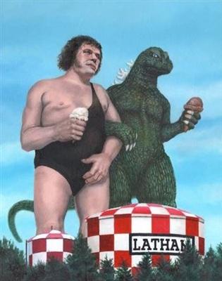 Andre The Giant Godzilla