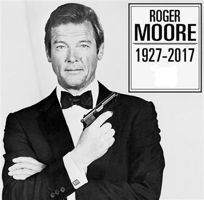 R I P Roger Moore