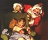 Norman Rockwell Christmas Kids Waiting For Santa Puzzle