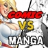 What is misconceptions people have about Manga and comics