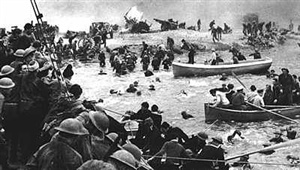In a matter of six weeks the German 'Blitzkrieg' had encircled and defeated both the French army and British Expeditionary Force by way of the infamous pincer movement pushing north through Belgium and south through the Ardennes. Stopping just shy of Dunkirk the Wermacht found strong resistance from 80,000 French defenders. How many men were evacuated from Dunkirk during 'Operation Dynamo'?