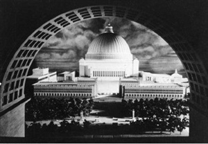 Hitler's vision for the re-building of Berlin after the final German victory was to be overseen by the 1st architect of the Third Reich, Albert Speer. Influenced by the magnitude of ancient Rome, Speer planned to construct the 'Volkshalle' as the new city's centerpiece. Planned to be over 200m high and 250m in diameter, 16 times larger than the dome of St Peter's. Berlin was to be renamed...?