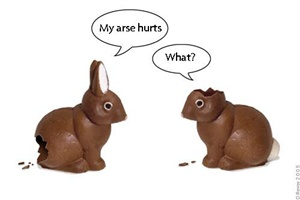 Which vegetable has ears?  PS. no chocolate bunnies were hurt in the making of this quiz