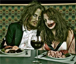 Dating a zombie is...