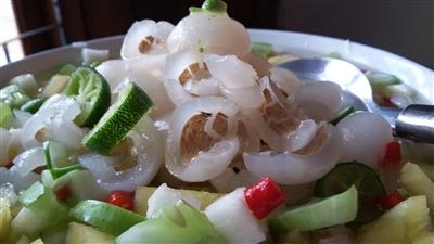 Indonesian Rambutan Pickles Recipe