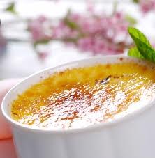 Vanilla Cream Brulee (Creme de baunilha flambado)