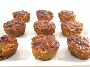 BBQ Meatloaf Mini's
