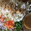 Chicken Slaw with Peanuts sauce Recipe