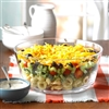 Layered Veggie Tortellini Salad Recipe