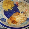 Baked Chicken Breast w Toasted Bread Crumbs and Shredded Cheese Recipe