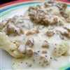 Easy Sausage Gravy with Biscuits