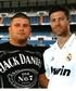 Yo y Javi Alonso del Real de Madrid