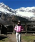 at the basecamp of the snow-capped mountains, Nov. 2013