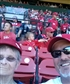 Me Mom at Cards Cubs game