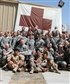 that was with USA army in baghdad camp cropper I am the one in corner ware a USA uniform that when I were a linguist with th