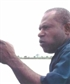 On the Sepik River pointing out Local Government boundries