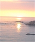 Sunset on the coast at Pismo Beach