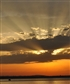 Sunset over the Bodensee Lake Constance